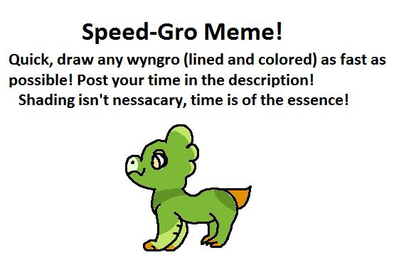 Speeeed-Grow Meme- Pickles by Oak-Storm