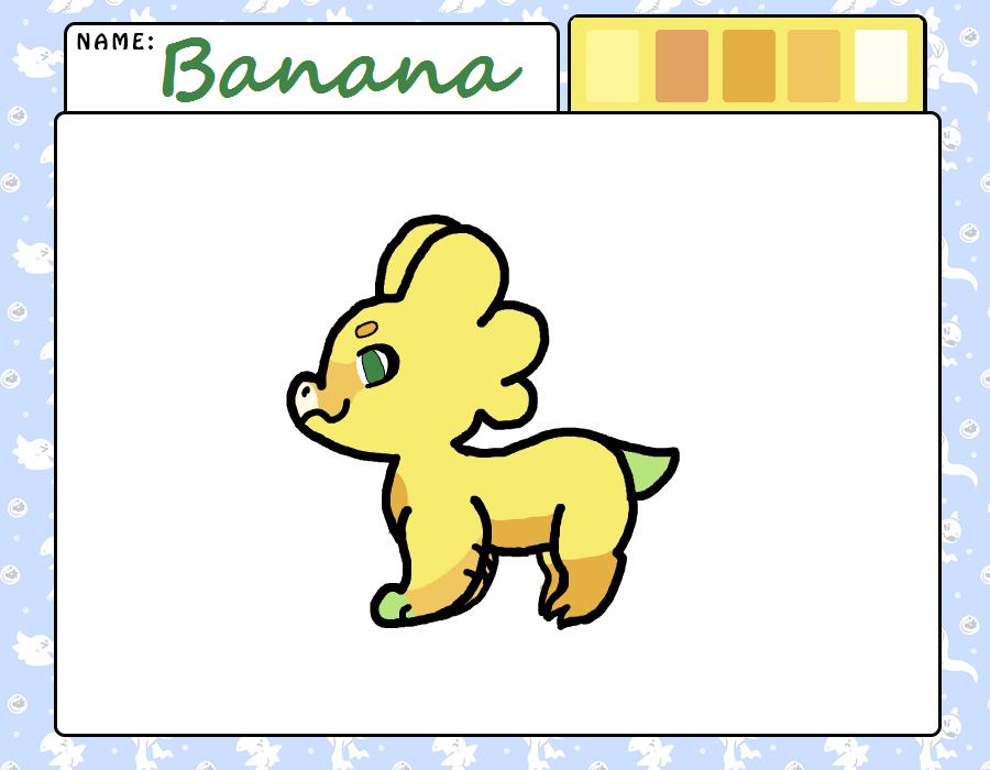 Banana - Acceptance sheet by Oak-Storm