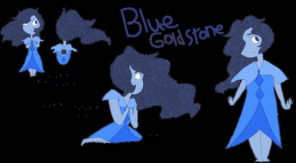 Blue goldstone by Oakstormftw