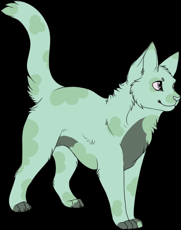 {Color Pallet Cat} Clover {Open} by Oakstormftw