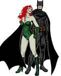 Batman and Poison Ivy