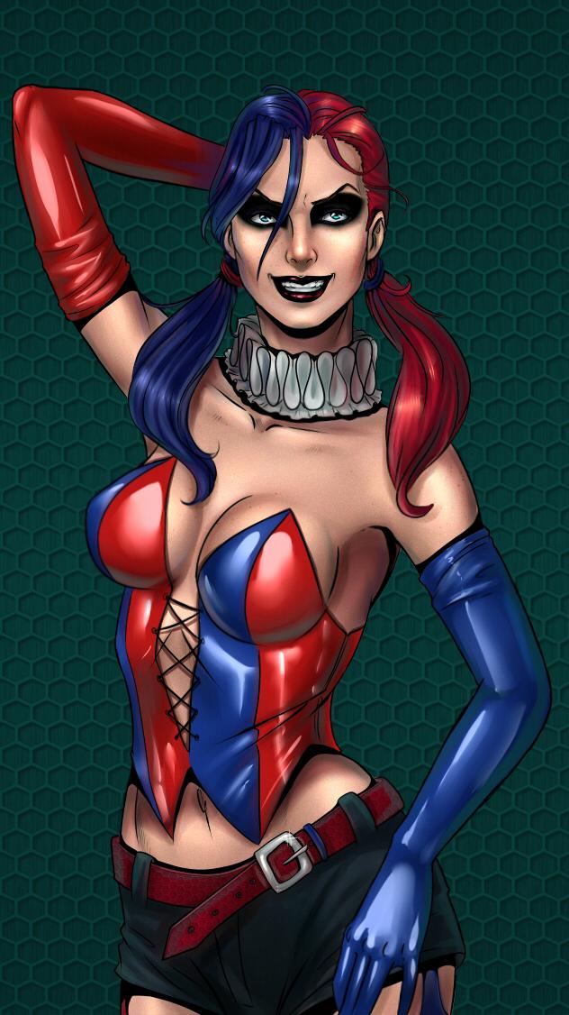 Harley Quinn by Salamandra88