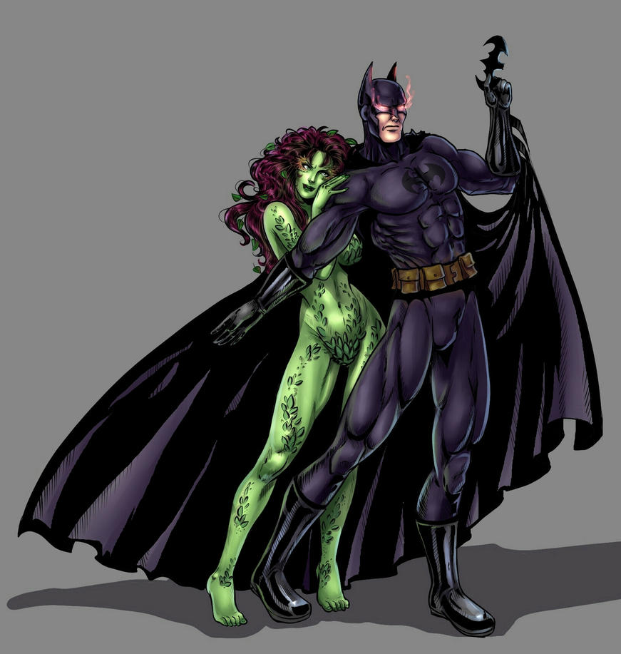 Batman and Poison Ivy by Salamandra88Poison Ivy Batman