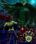Poison bat and Ivyman
