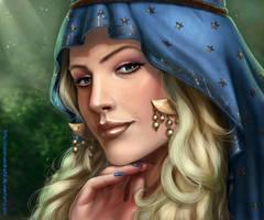 Sorceress by Salamandra88
