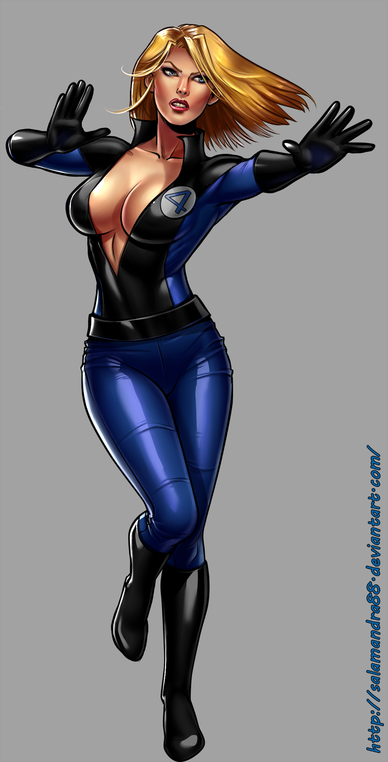 invisible women The invisible woman, also referred to as subject no 4 is a member of the fantastic four sue was born in kosovo and adopted by scientist, dr franklin storm, and was raised beside johnny.