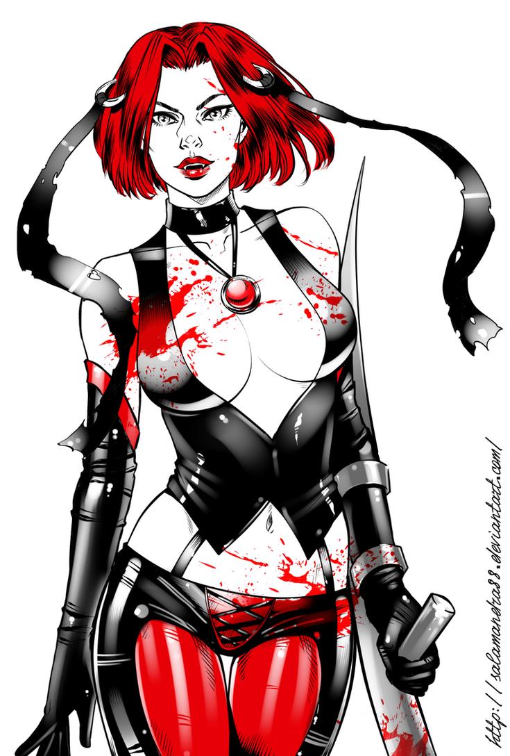 BloodRayne by Salamandra88