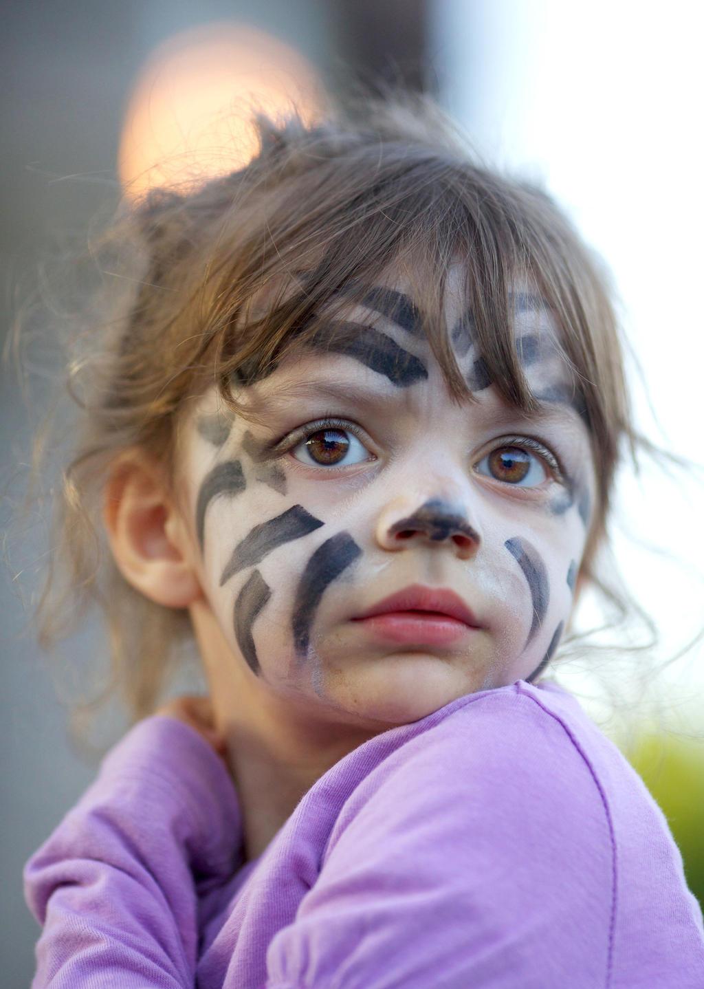 Zebra child by EyeOfBoa