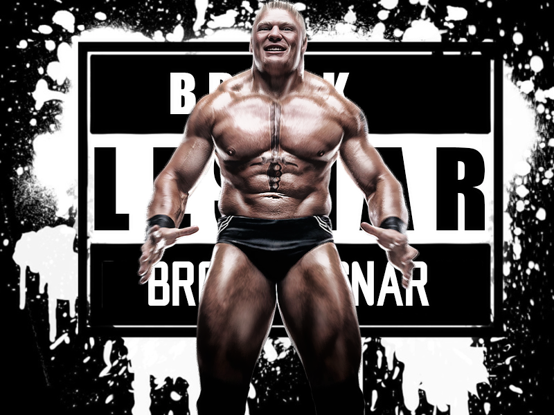 Brock Lesnar Wall Paper By HeshamGFXER