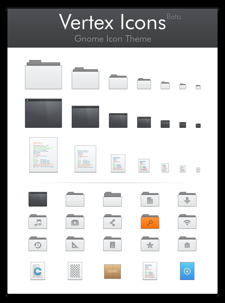 Vertex Icons (Beta) by horst3180