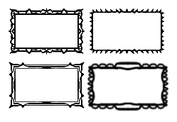 Stamp Border Templates By SynthaRoboto On DeviantArt