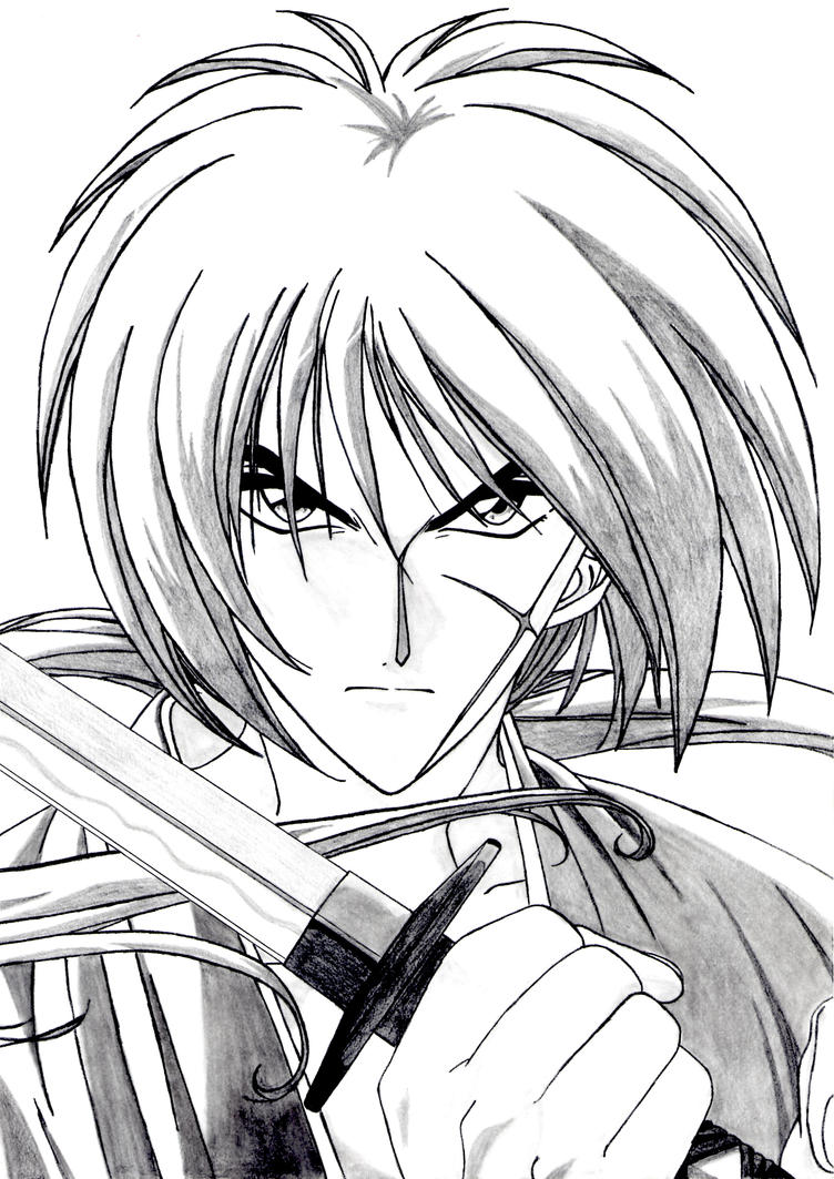 Rurouni Kenshin By EliMaria