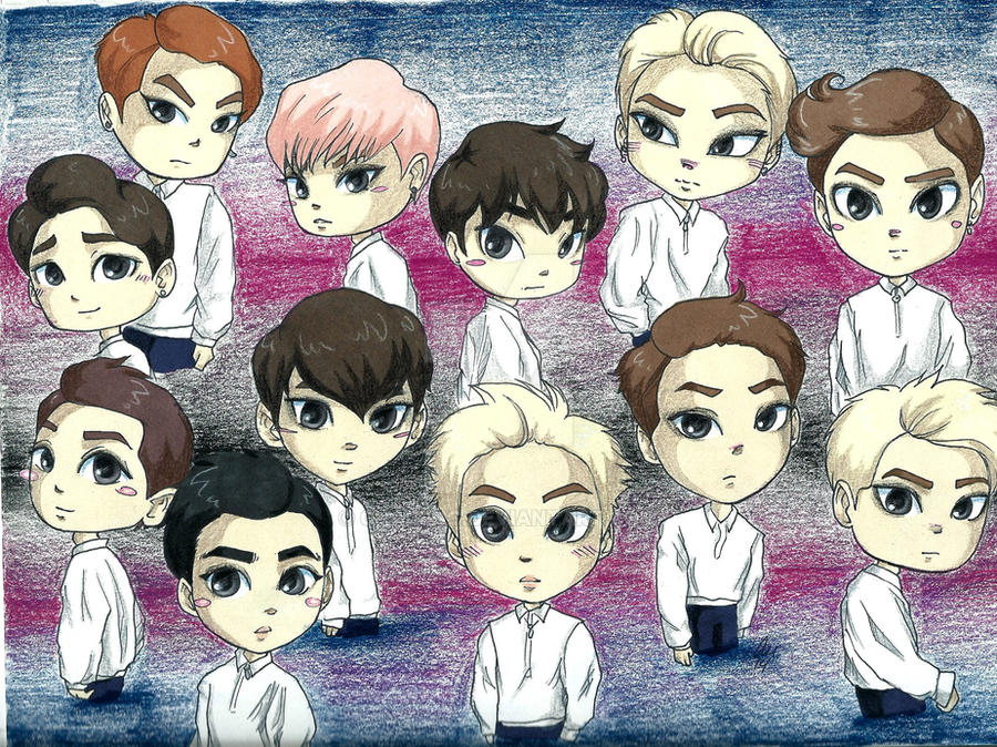 2 YEARS WITH EXO by chaixing