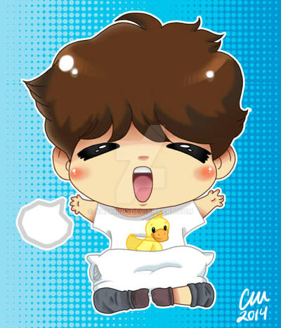 Chibi Sandeul Commission by chaixing