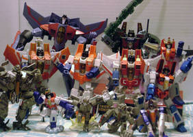 The Army of Starscreams by veritrix