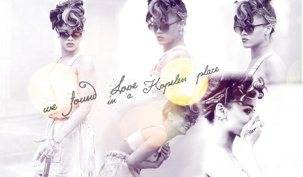 Rihanna We Found Love Wallpaper By Missfenty