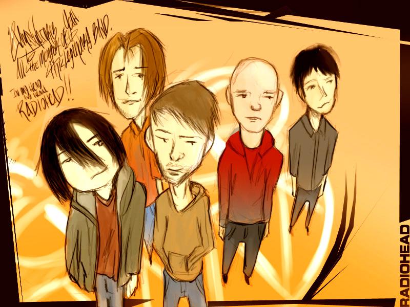 radiohead tributely by Hamesu