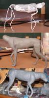 Dog in progress by kaasha