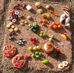tiny food by kaasha