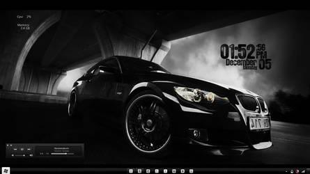 December Black Desktop