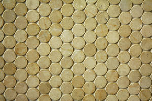 marble circle tile II by beckas