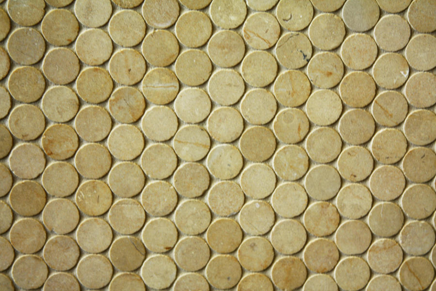 marble circle tile II by beckas