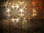 bronze metallic ornate texture