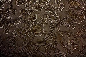 bronze floral texture by beckas