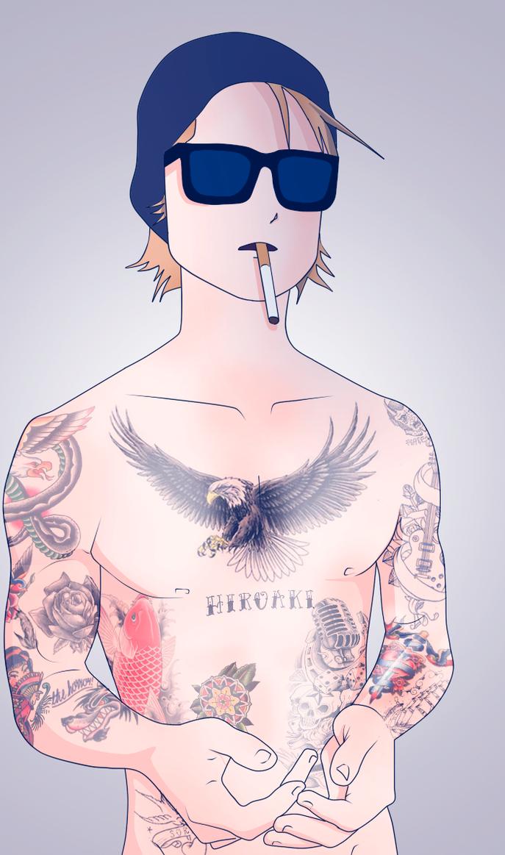 Suicide boy Yamato by whoisErni