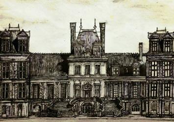 Chateau de Fontainebleau by Architect-Gillesania