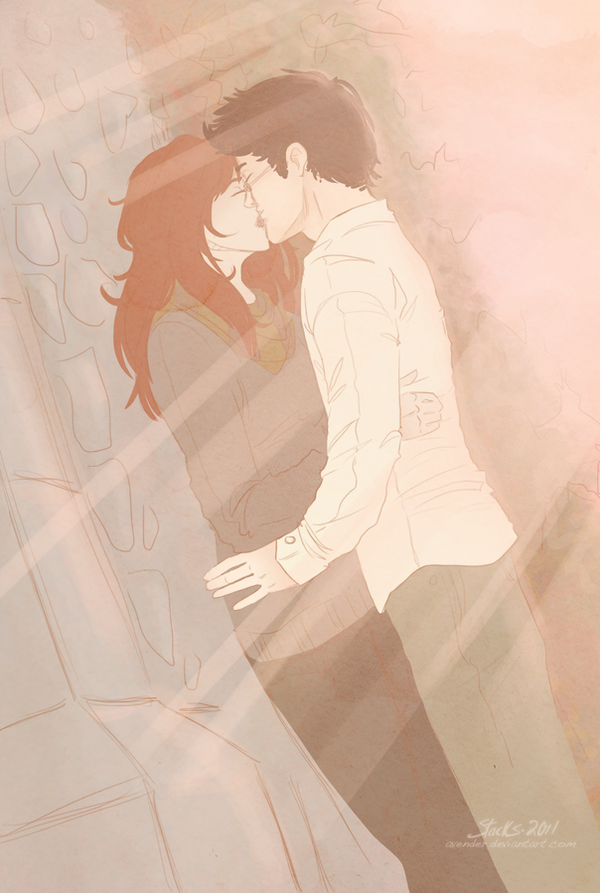 Lily + James: Castle Kiss by Avender