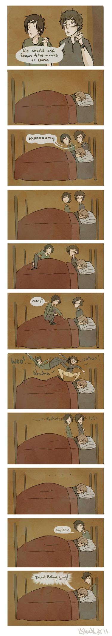 Hey Remus ... WAKE UP by Avender