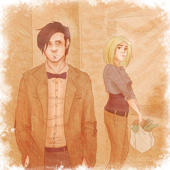 Eleven and Rose: A Passing Glance