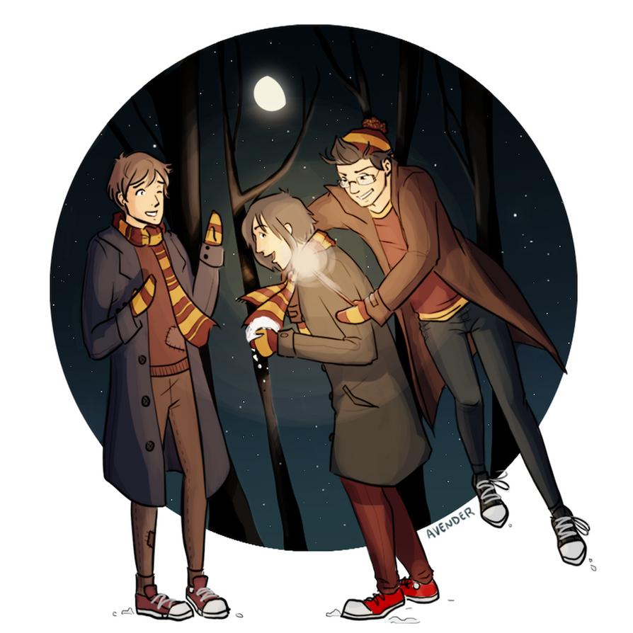 Winter's Night by Avender