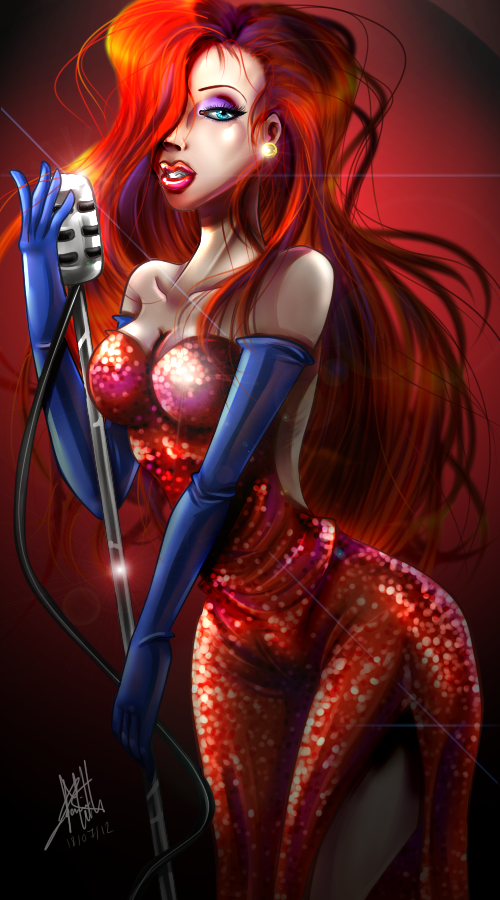 Jessica Rabbit by titejojo