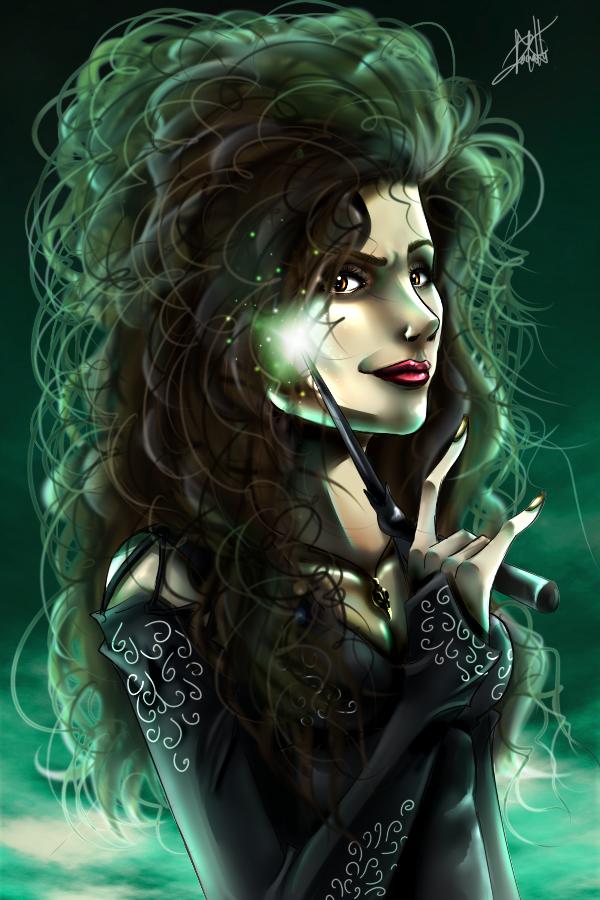 Bellatrix Lestrange by titejojo