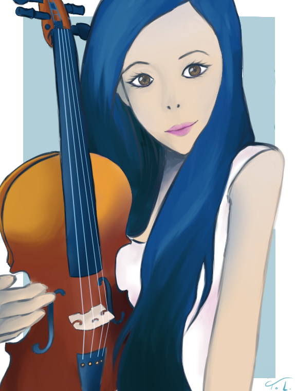 violin by xXDeathAngel