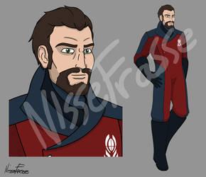 HERO: Agent Red by NisseFrasse