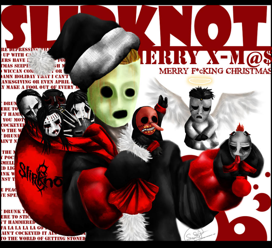 Christmas Slipknot by Sun-SinAngel