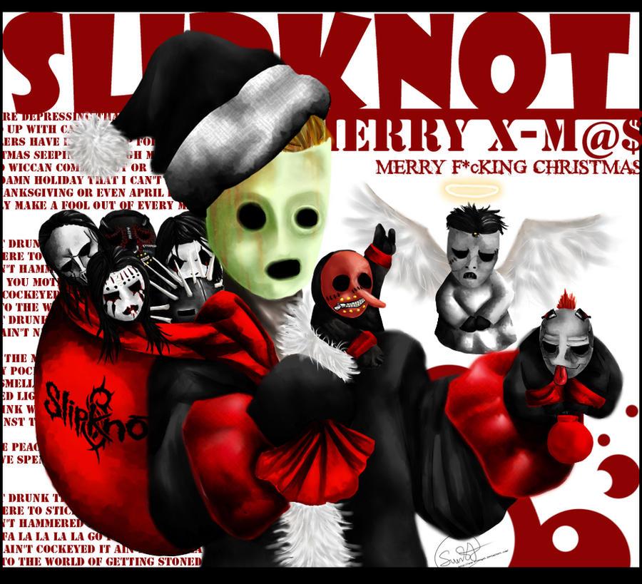 Christmas Slipknot by Sun-SinAngel