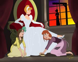 Cinderella, Disney by SerisaBibi