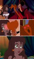 Jasmine, Jafar and Sadira comic page 8