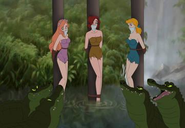 Anastasia, Cinderella and Giselle by SerisaBibi