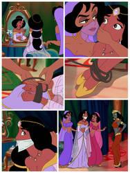 Jasmine and Mirage comic page 1