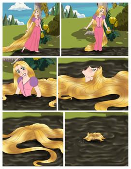 Rapunzel comic page