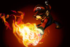 Fire Mario by Flamehots