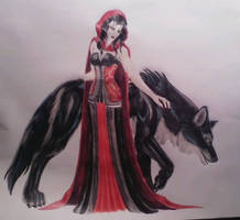 red riding hood by yuewolf