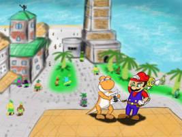 Where's Shadow Mario? by rtfs1