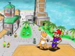 Where's Shadow Mario?