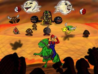 Mario's Doom by rtfs1